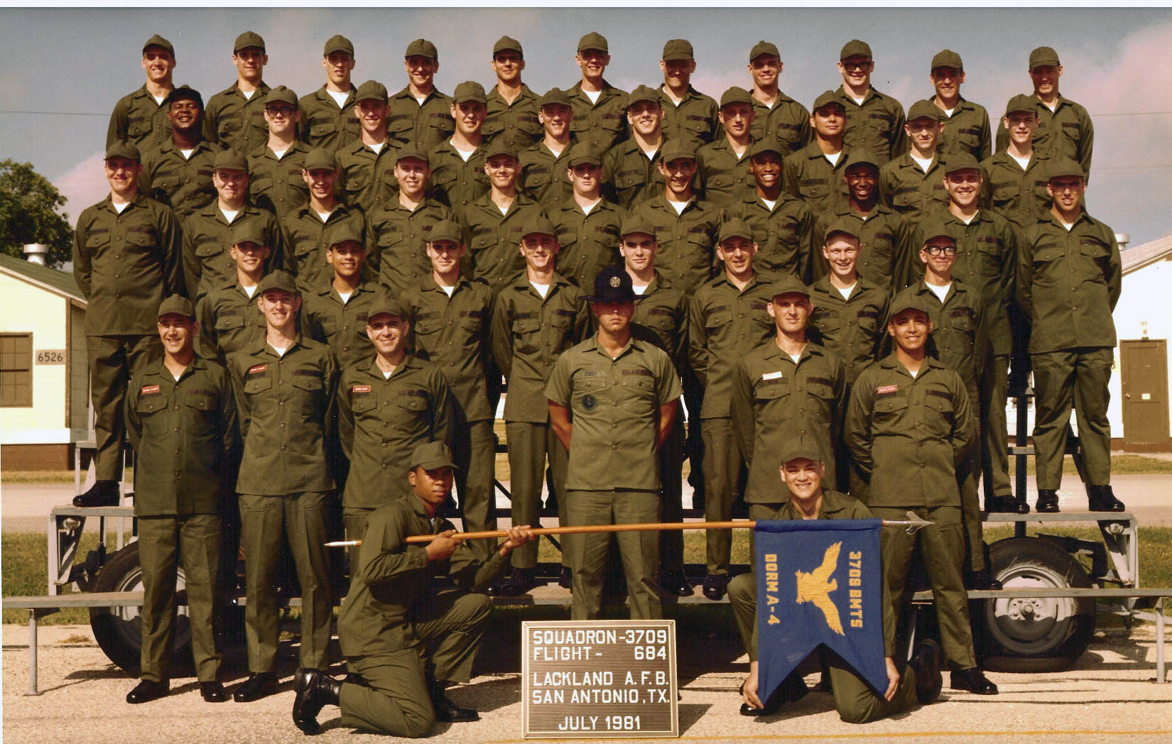 Air Force basic training group photos online